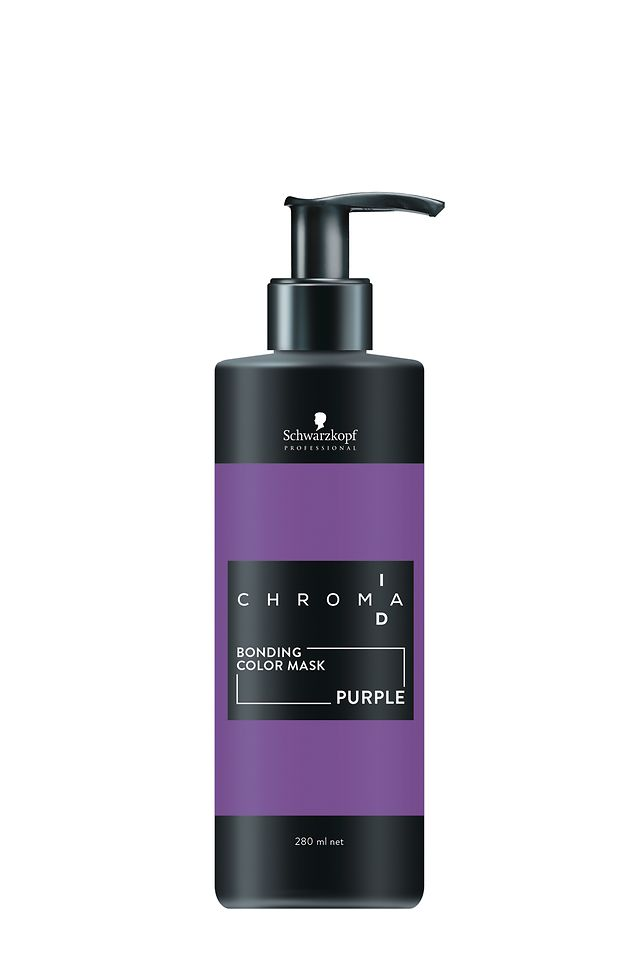 Chroma ID Bonding Color Mask Purple