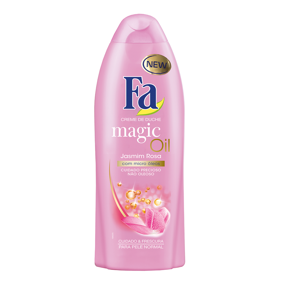 Gel de Duche Magic Oil Jasmim Rosa, 500 ml